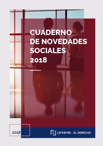 Cuaderno de Novedades Sociales 2018