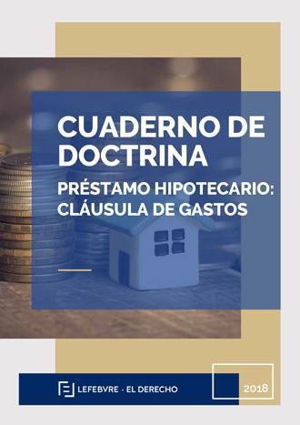 Préstamo Hipotecario: Cláusula de Gastos