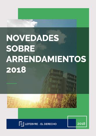 Novedades sobre arrendamientos 2018