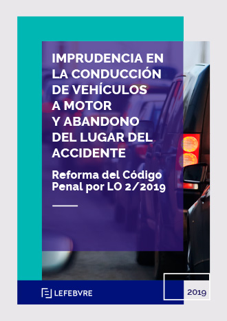 Imprudencia en la conducción de vehículos a motor y abandono del lugar del accidente