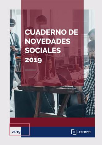 Cuaderno de novedades sociales 2019