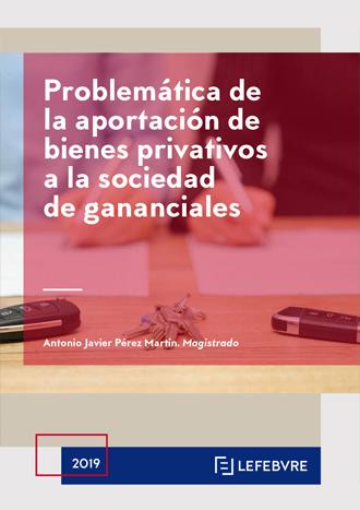 Problemática de la aportación de bienes privativos a la sociedad de gananciales