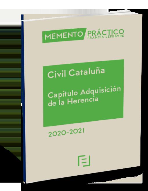 Civil Cataluña. Adquisición de la Herencia