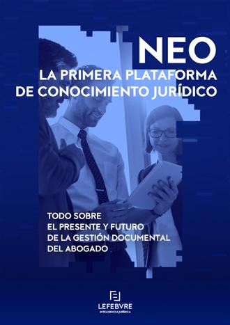NEO La primera plataforma de conocimiento jurídico