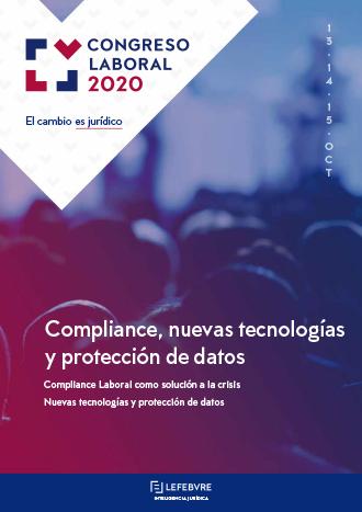 Compliance, nuevas tecnologías y protección de datos