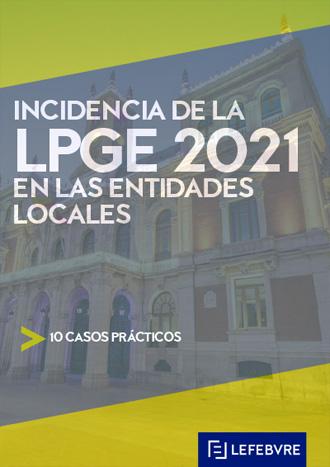 Incidencia de la LPGE 2021 en entidades locales