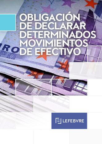 Declaración de movimientos de efectivo
