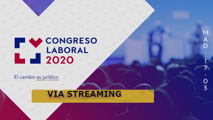 Congreso Laboral 2020 vía streaming