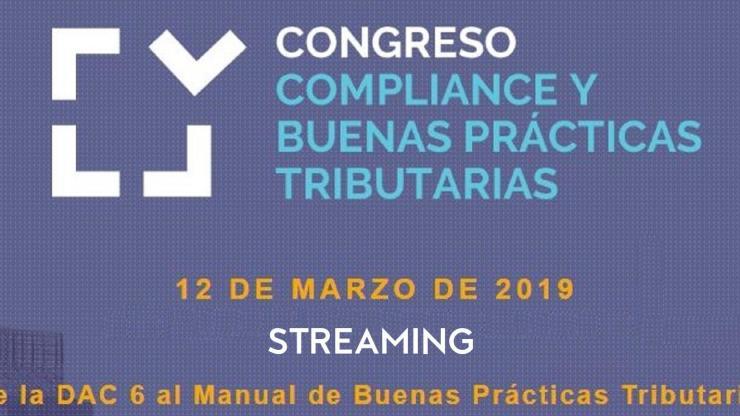 Streaming congreso compliance y buenas prácticas tributarias